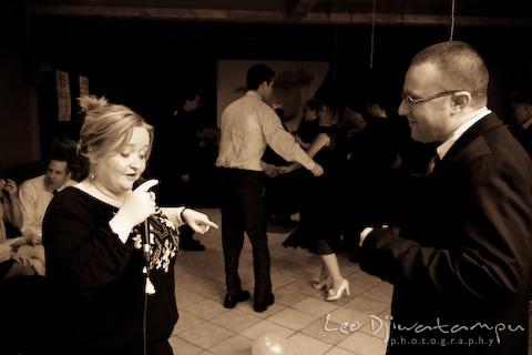 teaching how to dance salsa
