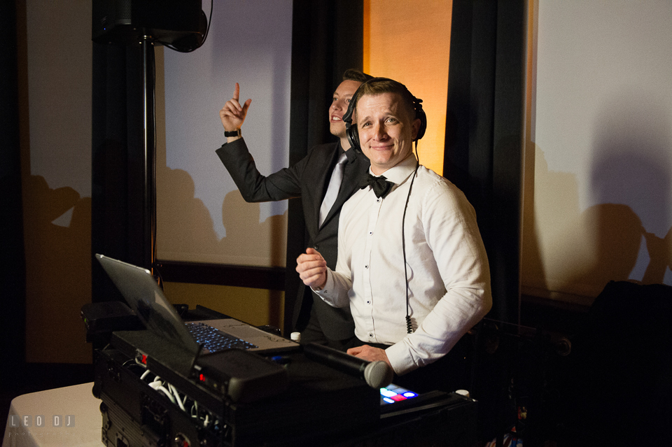 Westin Annapolis Hotel DJ Jacob from Distric Remix entertaining guests photo by Leo Dj Photography