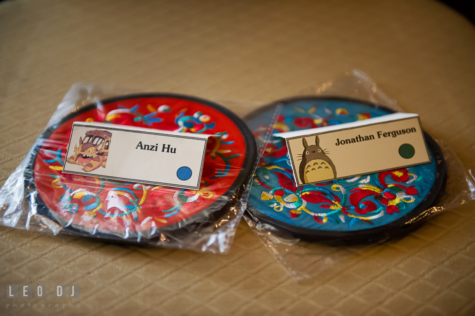 Each Guests Would Also Get One Of These Beautiful Wedding Favors Embroidered Coasters From China