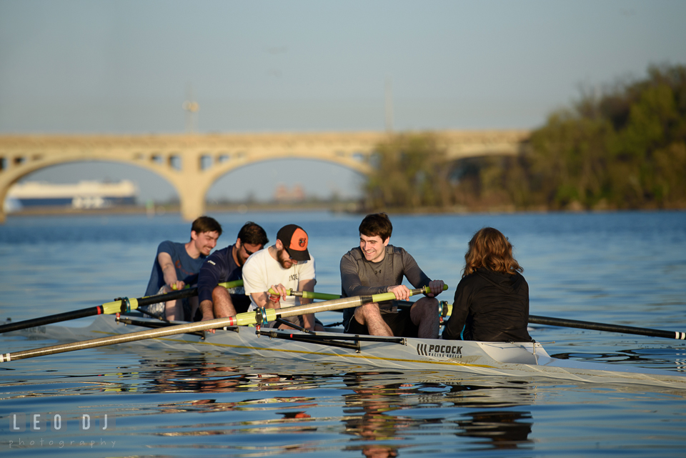 Baltimore Rowing Club Maryland team rowing boat photo by Leo Dj Photography.
