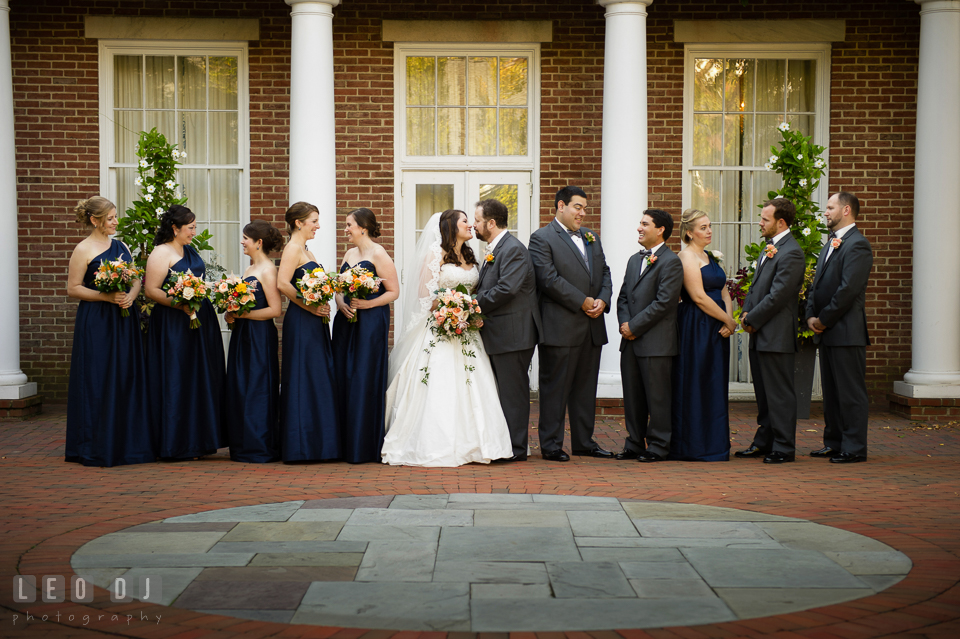 . The Tidewater Inn wedding, Easton, Eastern Shore, Maryland, by wedding photographers of Leo Dj Photography. http://leodjphoto.com