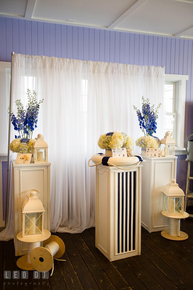 Pops of Plum booth. Kent Island Maryland Chesapeake Bay Beach Club Bow Ties and Bubbly wedding show photos at the Tavern Bayside, by wedding photographers of Leo Dj Photography. http://leodjphoto.com