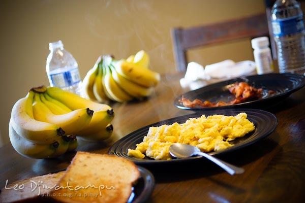 breakfast at cass, west virginia