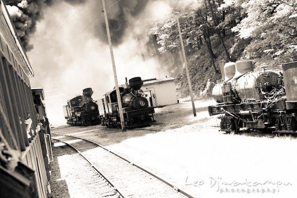 old train engines locomotives, cass, wv