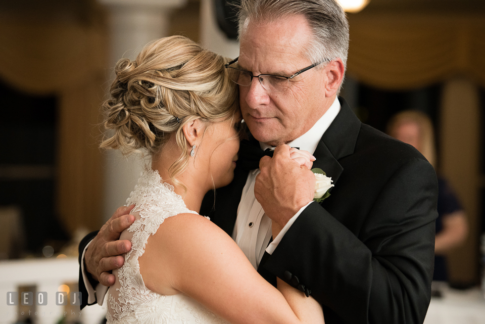Kent Manor Inn Father of Bride and daughter dance photo by Leo Dj Photography
