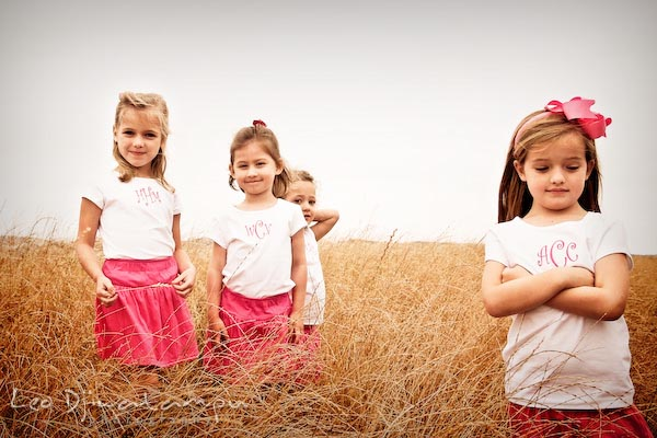girls posing in a meadow. Children family reunion birthday photography Tilghman Island Annapolis Kent Island Eastern Shore MD