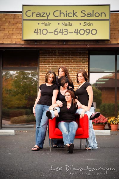 Crazy Chick Hair Salon, nails, skin, spa in Chester, Kent Island, Maryland. Commercial work photography Annapolis Eastern Shore MD Washington DC