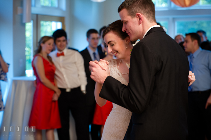 Bride and Groom dancing. Historic London Town and Gardens wedding photos at Edgewater Annapolis, Maryland by photographers of Leo Dj Photography. http://leodjphoto.com