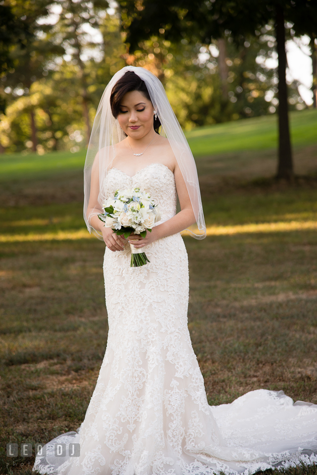 Reston Virginia Wedding Bride wearing dress designed by Sottero and Midgley from Elegance by Roya photo by Leo Dj Photography