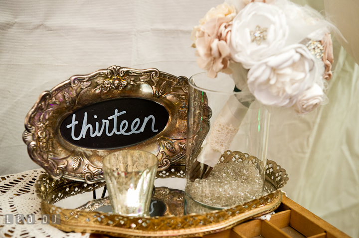 Antique silver plates and server from 2hands studios. Historic Inns of Annapolis wedding bridal fair photos at Calvert House by photographers of Leo Dj Photography. http://leodjphoto.com