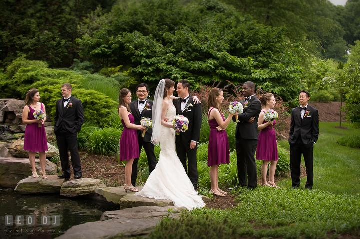 Bride, Groom, and the whole wedding party. Falls Church Virginia 2941  Restaurant wedding ...