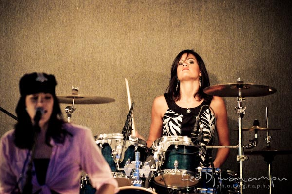 miriah turner, drums. Beyond the Veil music band members concert photography maryland virginia washington dc photographer