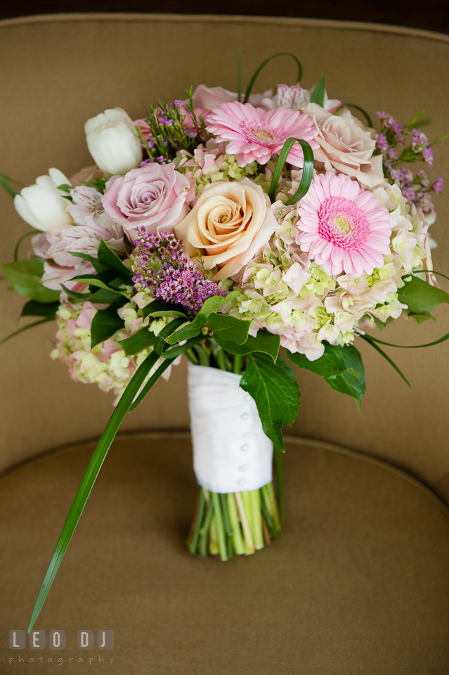 Four Seasons Hotel Baltimore bride bouquet by Petal Pusher Florist photo by Leo Dj Photography