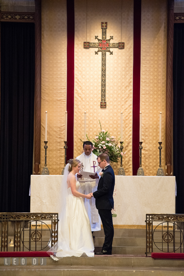 Christ Lutheran Church Inner Harbor Baltimore Maryland wedding ceremony photo by Leo Dj Photography