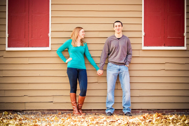 Engaged girl holding her fiancé's hand. Chestertown Maryland and Washington College Pre-Wedding Engagement Session Photographer, Leo Dj Photography
