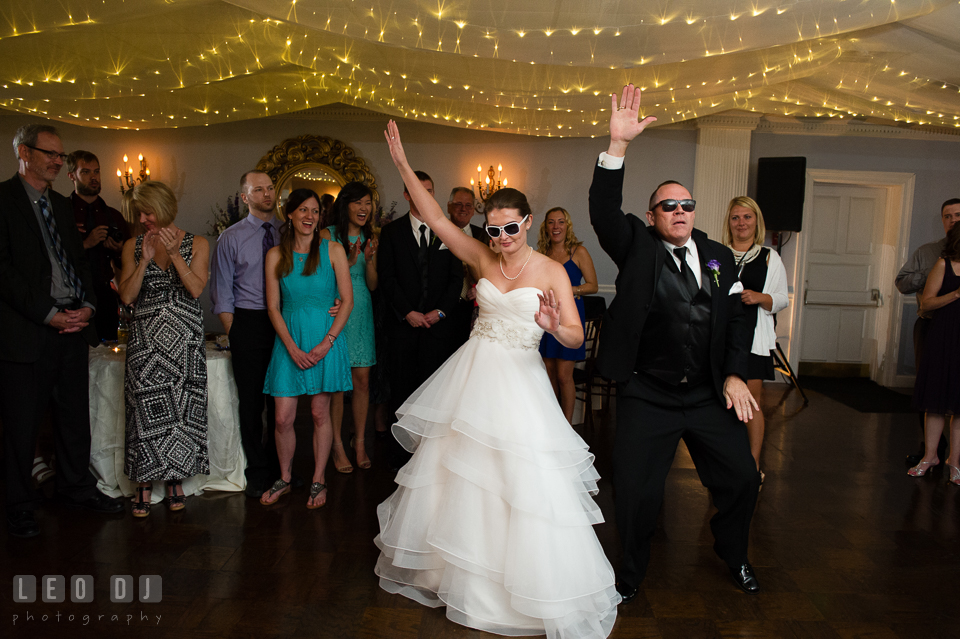 The Mansion at Valley Country Club Father of Bride and Daughter fun dance photo
