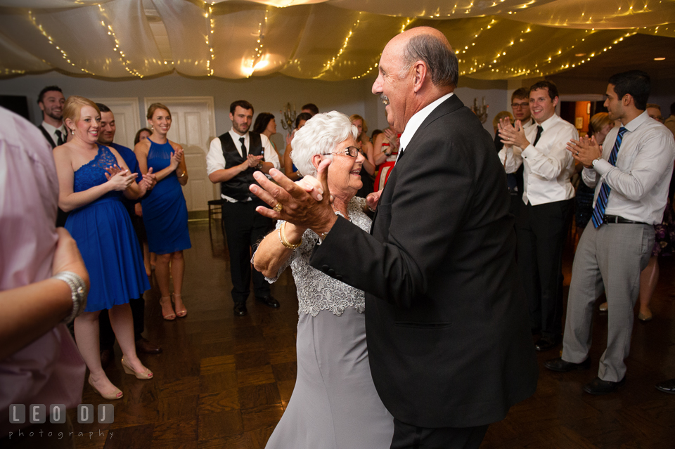 The Mansion at Valley Country Club Grandfather and Grandmother dancing photo