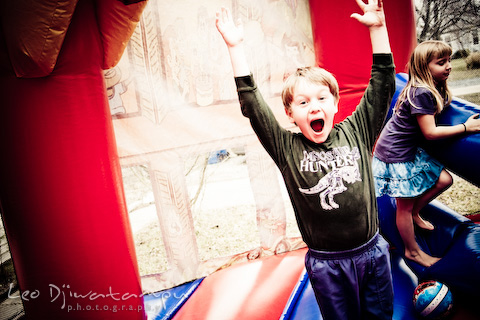 moonbounce birthday party photography kent island, annapolis, st. michaels, ocean city, eastern shore photographers