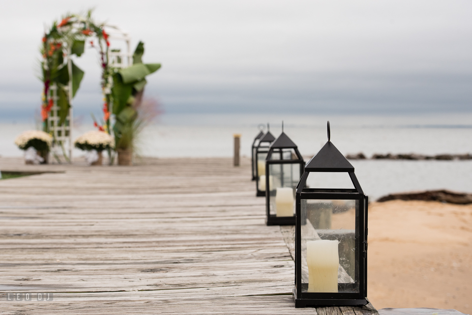 Silver Swan Bayside candle lantern on boardwalk photo by Leo Dj Photography