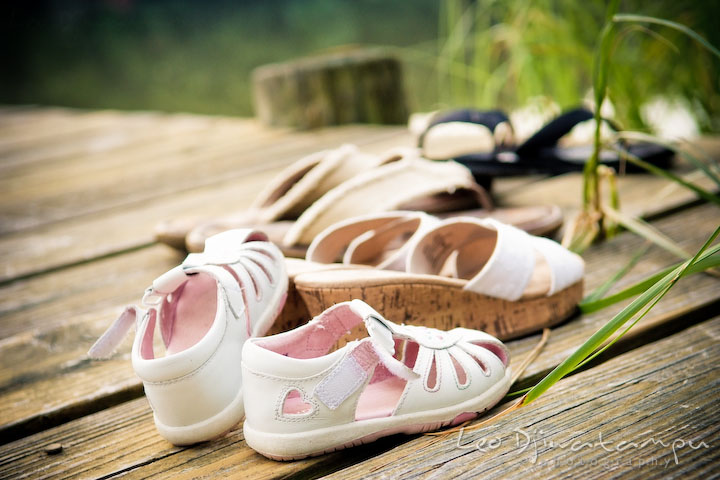 The family's shoes and sandals. Kent Island and Annapolis, Eastern Shore, Maryland Candid Family Maternity Session Photographer