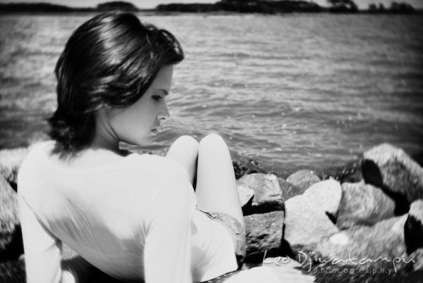professional girl model enjoying the sun. Annapolis, Ocean City, Kent Island, Maryland, VA, DC glamour high school senior portrait photography
