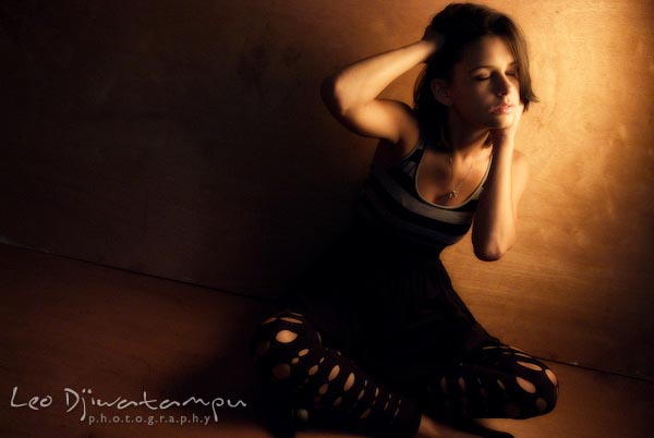 beautiful pro model in studio. Annapolis, Ocean City, Kent Island, Maryland, VA, DC glamour high school senior portrait photography