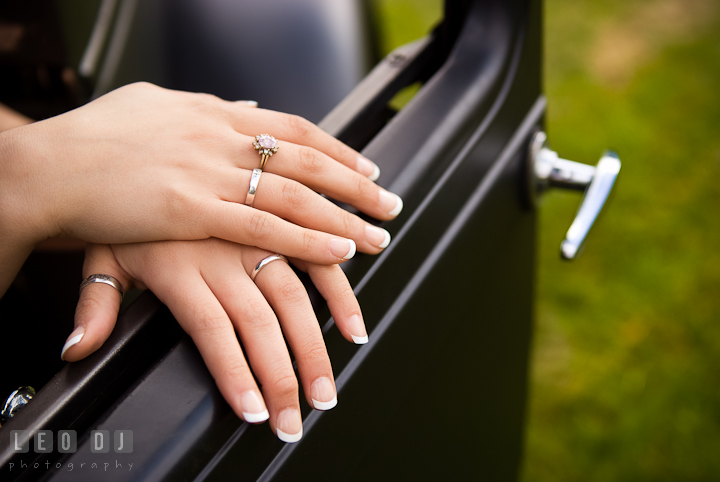 Girl wearing many rings on her finger. Eastern Shore, Maryland, Kent Island High School senior portrait session by photographer Leo Dj Photography. http://leodjphoto.com