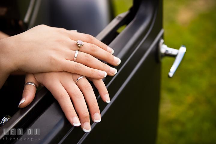 Girl wearing many rings on her finger. Eastern Shore, Maryland, Kent Island High School senior portrait session by photographer Leo Dj Photography. http://leodjphoto.com